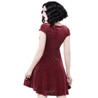 šaty dámske KILLSTAR - Angelyn - WINE, KILLSTAR