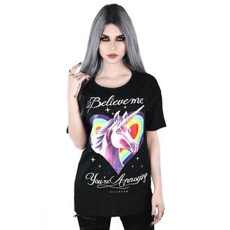 tričko dámske KILLSTAR - ANNOYING RELAXED - BLACK, KILLSTAR