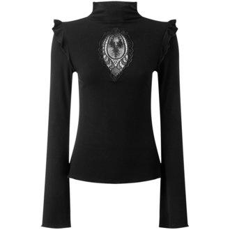 tričko dámske S dlhým rukávom KILLSTAR - Antonia - BLACK