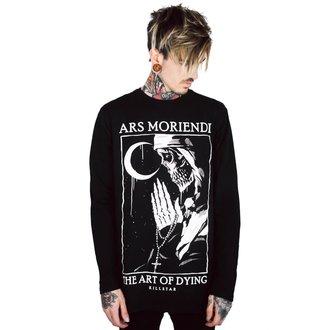 tričko pánske s dlhým rukávom KILLSTAR - Ars Moriendi - BLACK