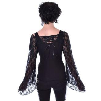 tričko dámske s dlhým rukávom POIZEN INDUSTRIES - ADDAMS - BLACK, POIZEN INDUSTRIES