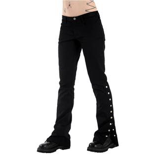 nohavice dámske Black Pistol - Button Hipster Denim (Black), BLACK PISTOL