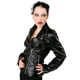 bunda dámska (křivák) Black Pistol - Biker Jacket Sky Black, BLACK PISTOL