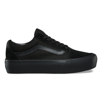 topánky dámske VANS - UA OLD Skool PLATFORM Black / Black, VANS