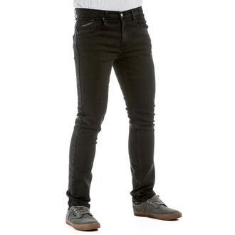nohavice pánske (jeans) NUGGET - Barker - 1/7/38, B - Black, NUGGET
