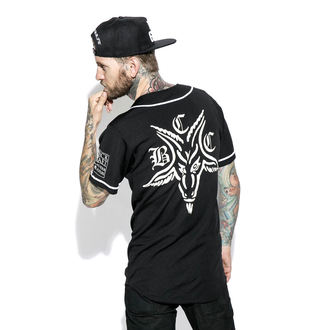 košele (unisex) BLACK CRAFT - Team Satan Baseball Jersey
