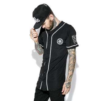 košele (unisex) BLACK CRAFT - Team Satan Baseball Jersey, BLACK CRAFT