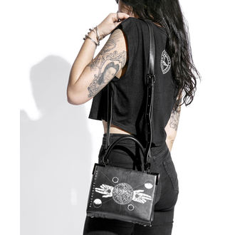 kabelka (taška) BLACK CRAFT - Two Finger Salute Mini Satchel, BLACK CRAFT