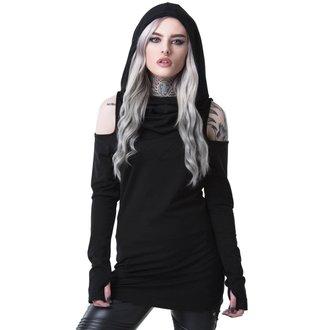 tričko dámske s dlhým rukávom KILLSTAR - BIBLIOMANCY- BLACK, KILLSTAR