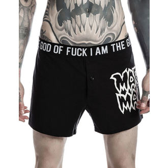 boxerky pánske KILLSTAR - MARILYN MANSON - God Of Fuck - Black - K-UND-M-2521