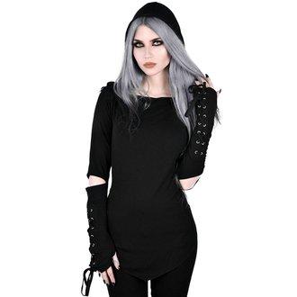 tričko dámske s dlhým rukávom KILLSTAR - Blazing Betty - BLACK, KILLSTAR
