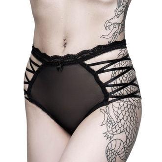 nohavičky dámske KILLSTAR - Bordello - BLACK, KILLSTAR