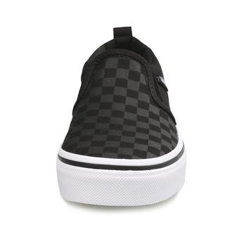 topánky detské VANS - YT ASHER (Checker) Blk / Bl, VANS