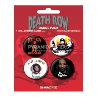 odznaky Death Row Records - BP80085, PYRAMID POSTERS