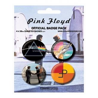 odznaky - Pink Floyd - BP80091, PYRAMID POSTERS, Pink Floyd