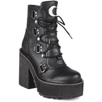 topánky dámske KILLSTAR - BROOM RIDER - BLACK