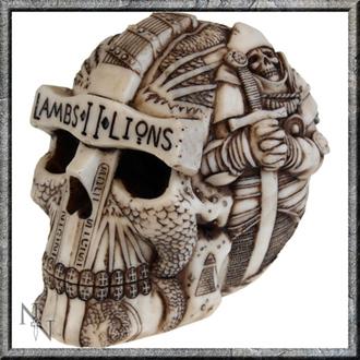 dekorácia Lebka - Lambs II Lions, Nemesis now