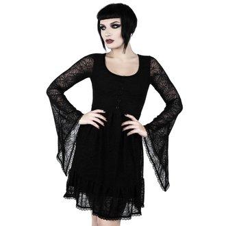 šaty dámske KILLSTAR - CASKET CUTIE WEB - BLACK, KILLSTAR