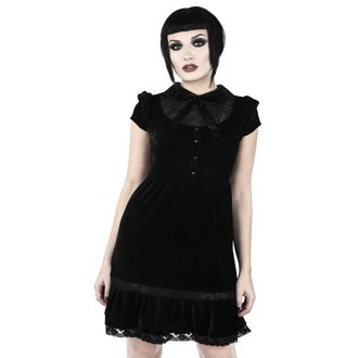 šaty dámske KILLSTAR - CREEPED OUT BABYDOLL - BLACK, KILLSTAR