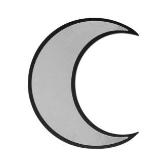 zrkadlo (dekorácia) KILLSTAR - Crescent - BLACK, KILLSTAR