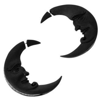náušnice KILLSTAR - Crescent moon - BLACK, KILLSTAR