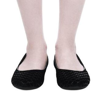 topánky dámske (balerínky) KILLSTAR - Cursula - BLACK, KILLSTAR