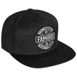 šiltovka FAMOUS STARS & STRAPS - CHAOS - BLACK, FAMOUS STARS & STRAPS