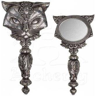 zrkadlo (dekorácia) ALCHEMY GOTHIC - Cat, ALCHEMY GOTHIC