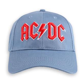 šiltovka AC/DC - Red Logo - ROCK OFF, ROCK OFF, AC-DC