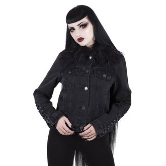 bunda dámska KILLSTAR - Dark Daze - Denim - BLACK, KILLSTAR