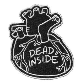 nažehlovačka (nášivka) KILLSTAR - Dead Inside - BLACK, KILLSTAR