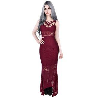 šaty dámske KILLSTAR - Deadly Beloved - WINE, KILLSTAR