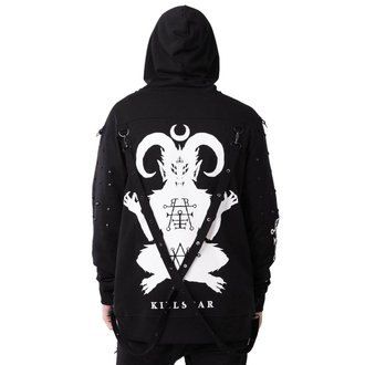 mikina (unisex) KILLSTAR - DEMONDAY - BLACK