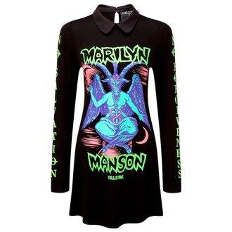 šaty dámske KILLSTAR - MARILYN MANSON - Devil On Tour - Black