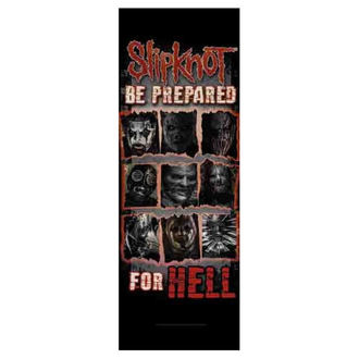 vlajka Slipknot - Be Prepared for Hell, HEART ROCK, Slipknot
