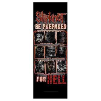 vlajka Slipknot - Be Prepared for Hell, HEART ROCK, Slipknot