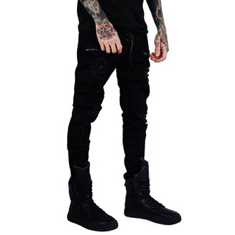 nohavice (unisex) KILLSTAR - Diablo Jeans - BLACK, KILLSTAR