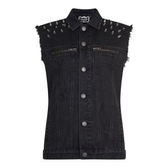 vesta (unisex) KILLSTAR - Disobedience Cut Out - Black - K-DNM-M-2763