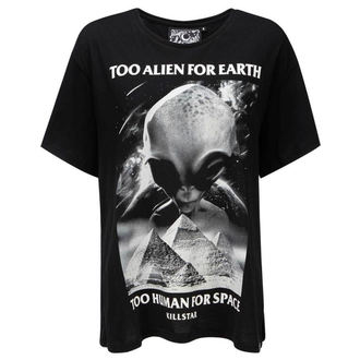 tričko dámske KILLSTAR - Don't Belong Relaxed - BLACK