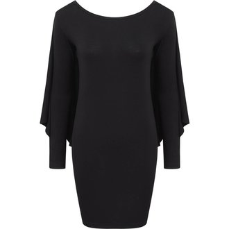 šaty dámske KILLSTAR - DRACUL MINI - BLACK