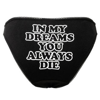 nohavičky dámske KILLSTAR - DREAMS - BLACK, KILLSTAR