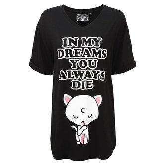 pyžamo dámske (nočné košele) KILLSTAR - DREAMS - BLACK, KILLSTAR