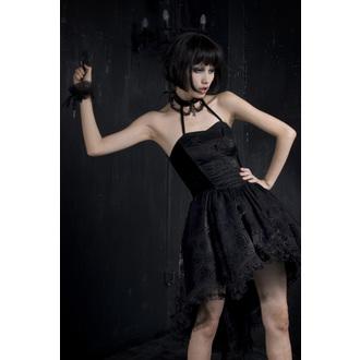 šaty dámske PUNK RAVE - Black Nymph, PUNK RAVE
