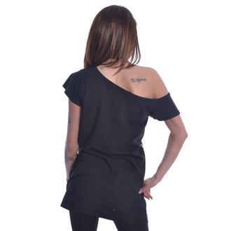 tričko dámske Heartless - YING YANG KITTY OFF SHOULDER - BLACK, HEARTLESS