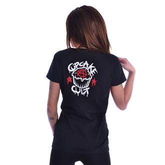 tričko dámske Cupcake Cult - BAD GIRLS - BLACK, CUPCAKE CULT