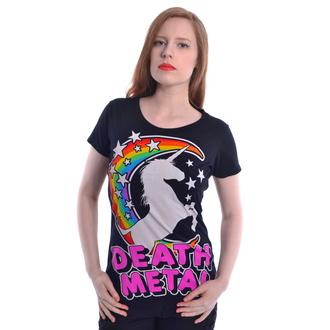 tričko dámske Cupcake Cult - DEATH METAL - BLACK, CUPCAKE CULT