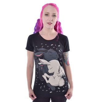 tričko dámske Cupcake cult - DREAM BUNNY - BLACK, CUPCAKE CULT