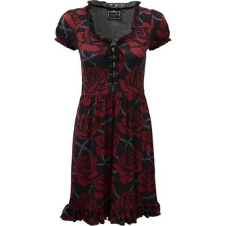 šaty dámske KILLSTAR - EDEN DOLL - BLACK