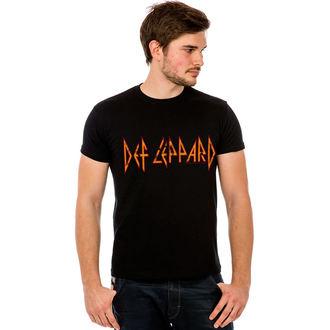 tričko pánske Def Leppard - Classic Logo - LIVE NATION, HYBRIS, Def Leppard