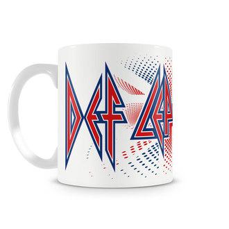 hrnček Def Leppard - UK Flag - HYBRIS, HYBRIS, Def Leppard